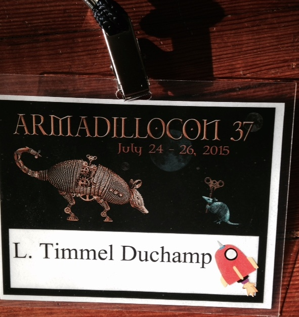 Timmi's ArmadilloCon badge