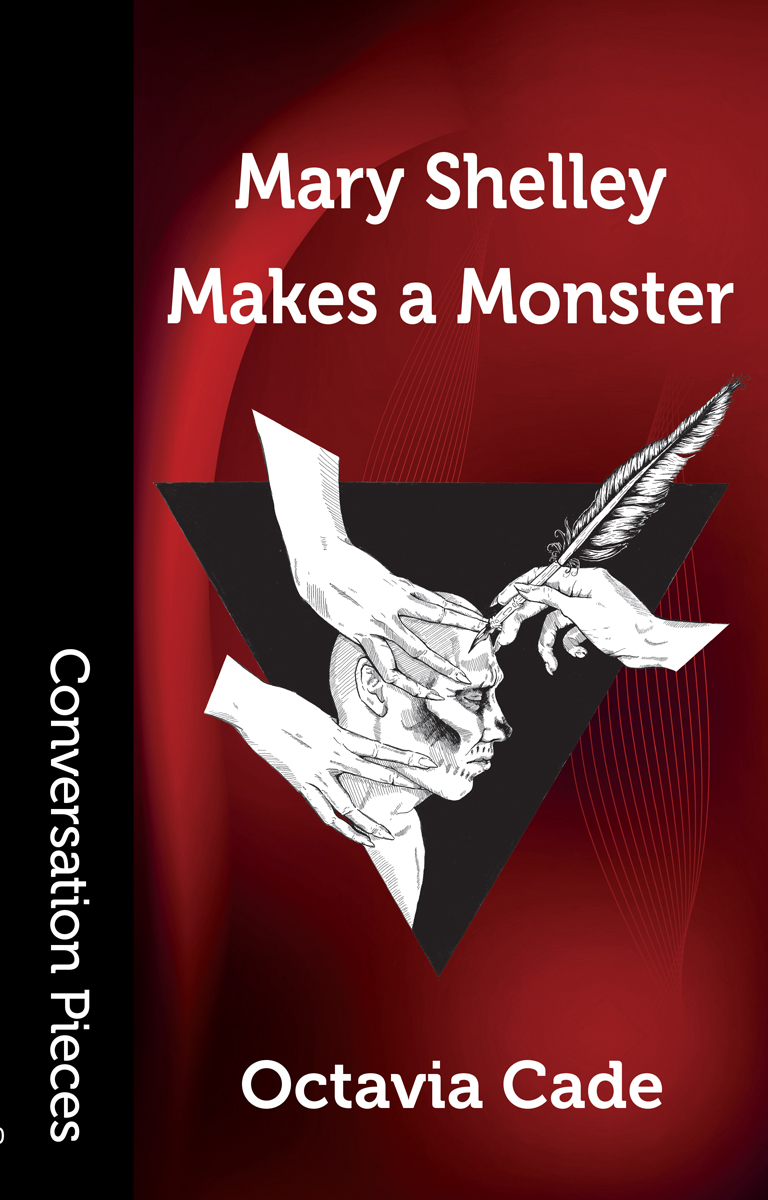 Cover image of Mary Shelley Makes a Monster