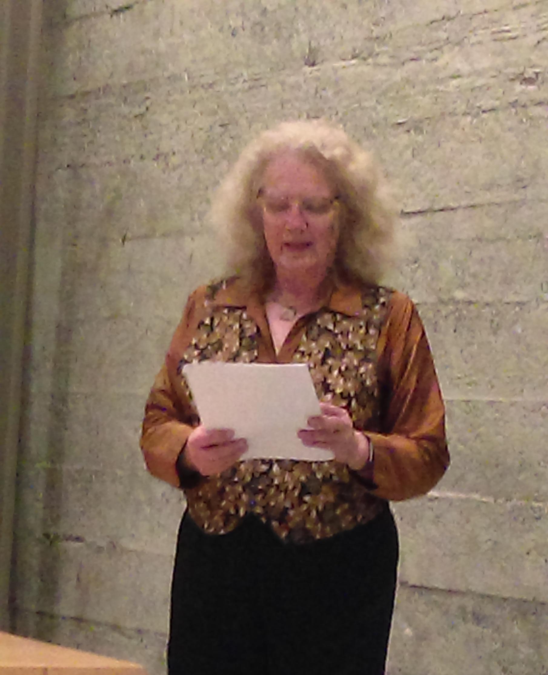 Nancy Jane Moore reading