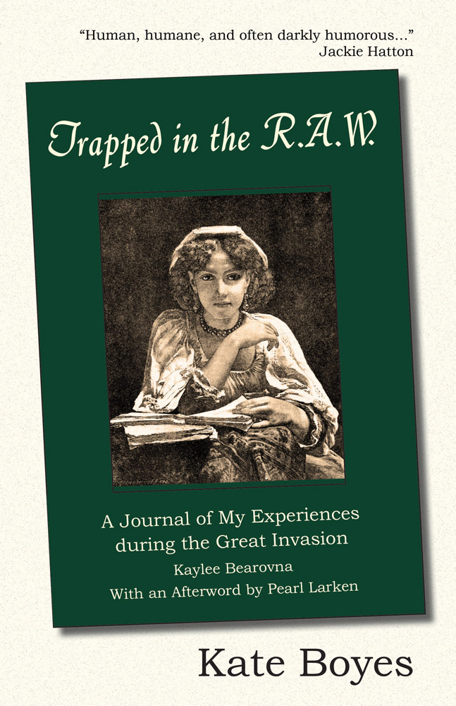 Cover image of Trapped in the R.A.W.