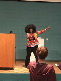 Sheree Renée Thomas inspiring ASFA attendees