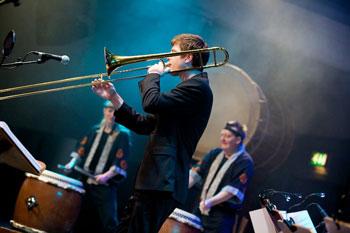 Trombones 'n' Taiko