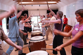 Weekend Workshop at the Mugen Taiko Dojo
