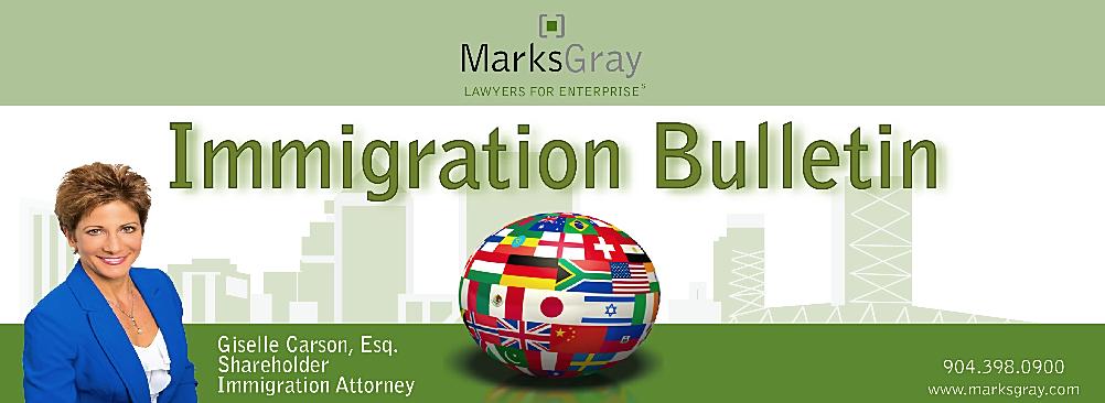 Marks Gray Immigration Bulletin