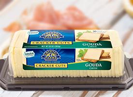 crystal farms cracker cuts gouda cheese