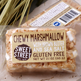 sweet street chewy marshmallow with brown butter and sea salt bar