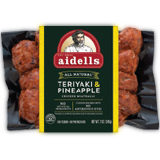 aidells teriyaki & pineapple meatballs