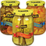 mt. olive simply pickles