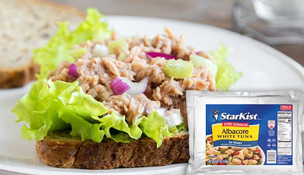 starkist albacore white tuna low sodium