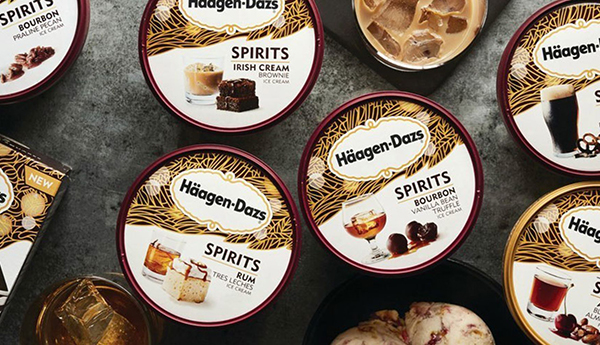 Haagen Dazs Spirits Ice Cream