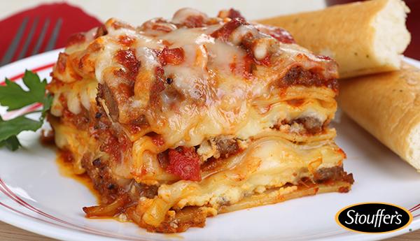 stouffers classic lasagna