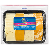 crystal farms variety pack cheese tray