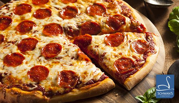 Schwan's Pepperoni Piza