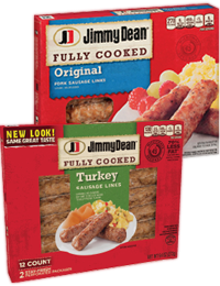 jimmy dean fully cooked refrigerated breakfast links