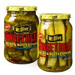 mt olive sweet heat pickles