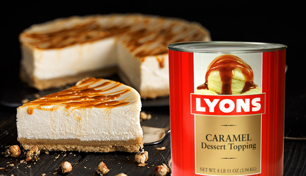 lyons caramel dessert topping
