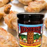 baked chicken wings kon-tiki mango kiawe bbq sauce