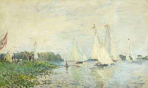 Claude Monet Regatta At Argenteuil