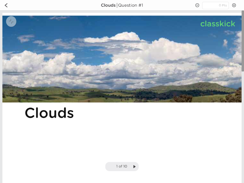 Clouds - Day 5 - #12DaysofClasskick