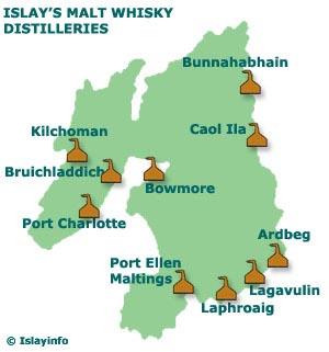 Map of Island of Islay