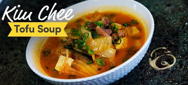 Kimchee Tofu Soup