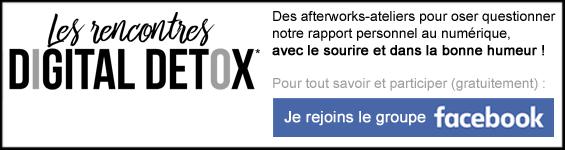 Promo Les rencontres Digital Detox