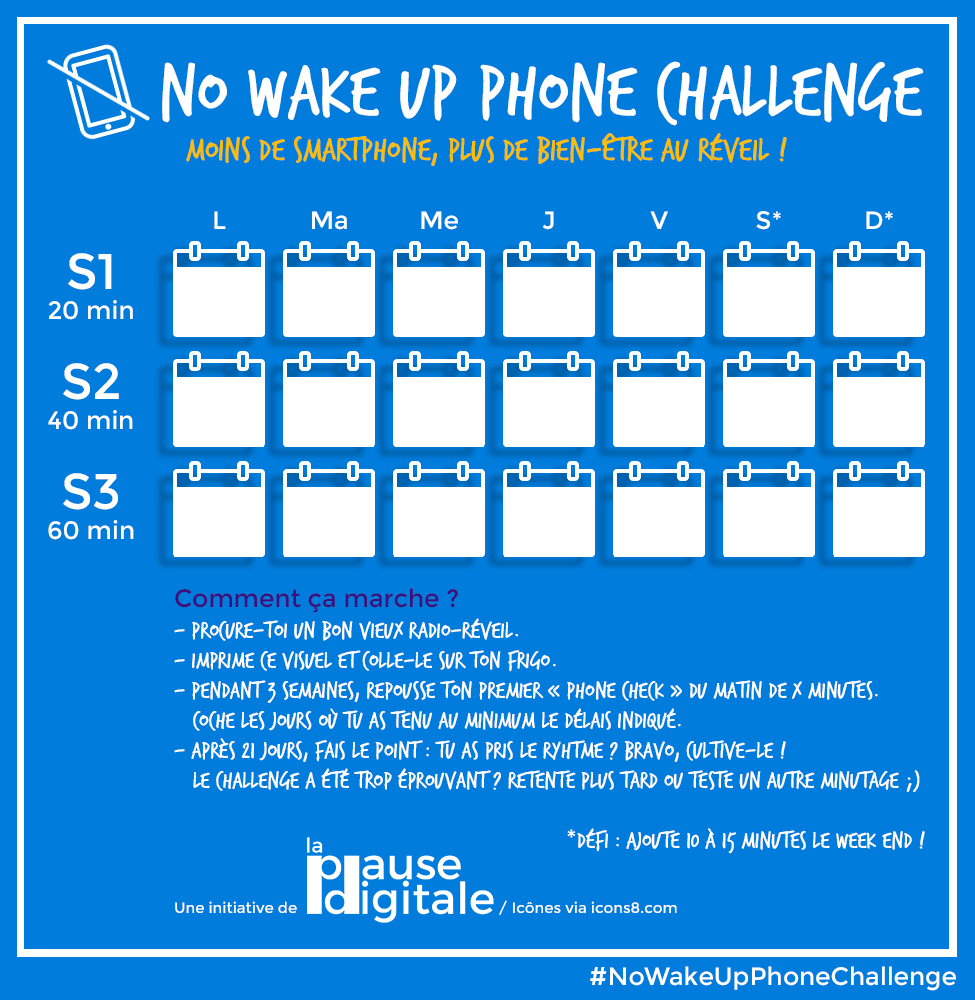 No wake up phone challenge