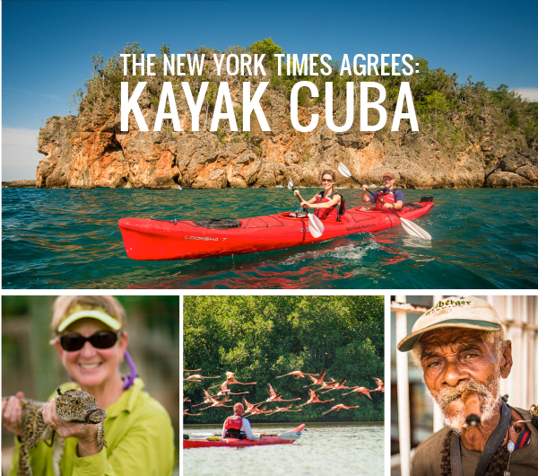 The New York Times Agrees: Kayak Cuba