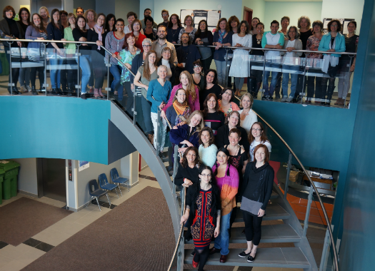 Graduating class, CE's and Faculty May 2015