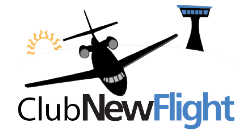 LOGO CLUB NEW FLIGHT