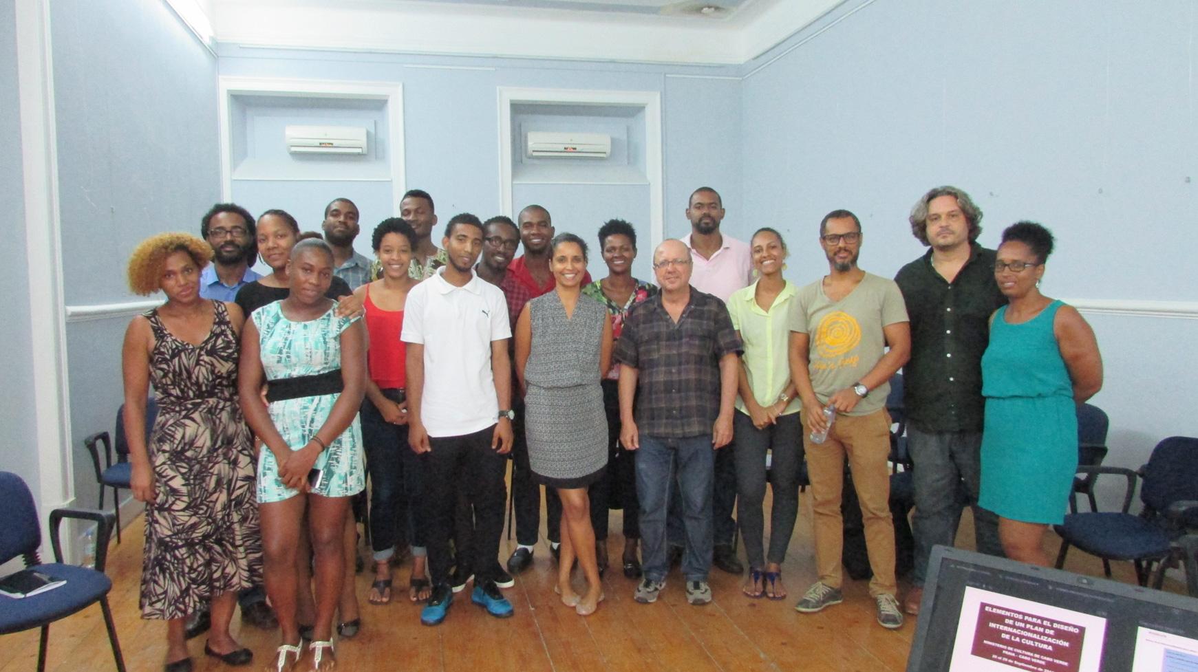 Foto: Curs internacionalització a Praia (Cap Verd)