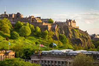 Edinburgh Castle photograph by Nat Coalson