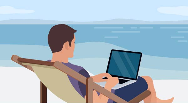 Bringing your devices in your vacation