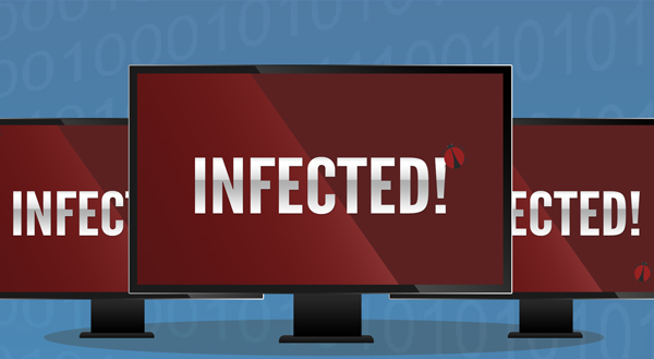 Various malware can infect your computers