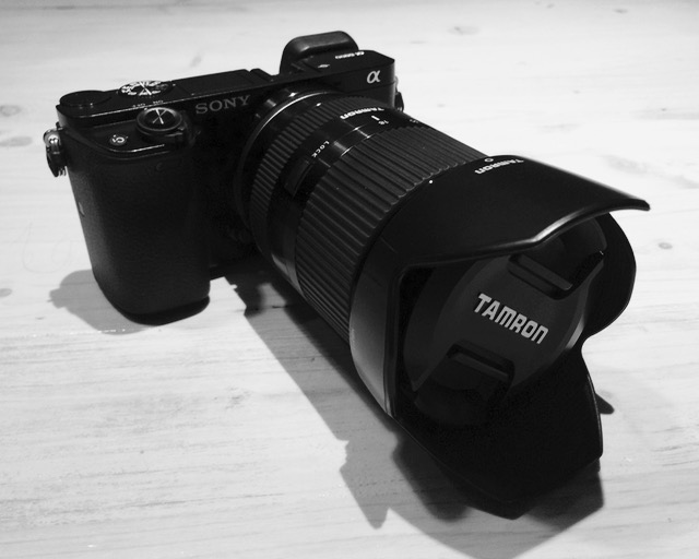 Sony alpha 6000 with Tamron lens