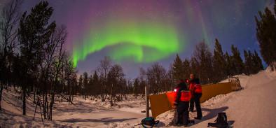 Magia en el cielo de Finlandia