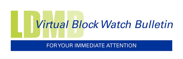 Virtual Block Watch Bulletin logo