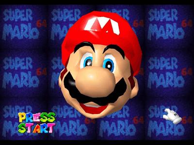 #1: Super Mario 64