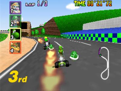 #2: Mario Kart 64