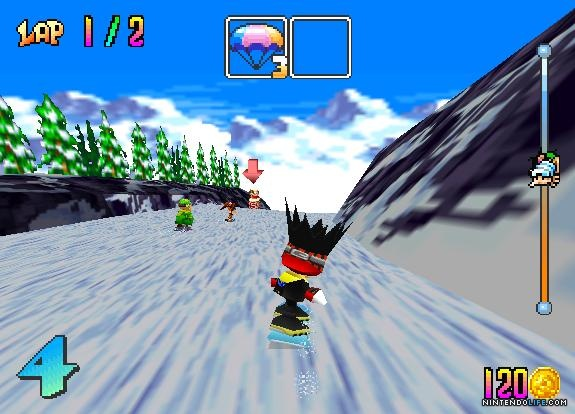 Screenshot N64 Spel