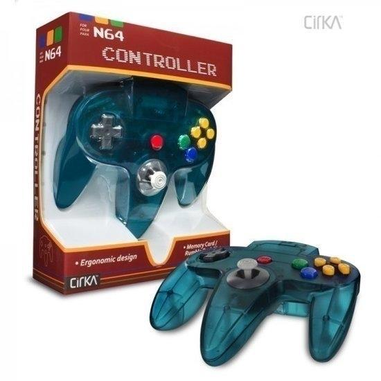 N64 Controller Aqua Blue