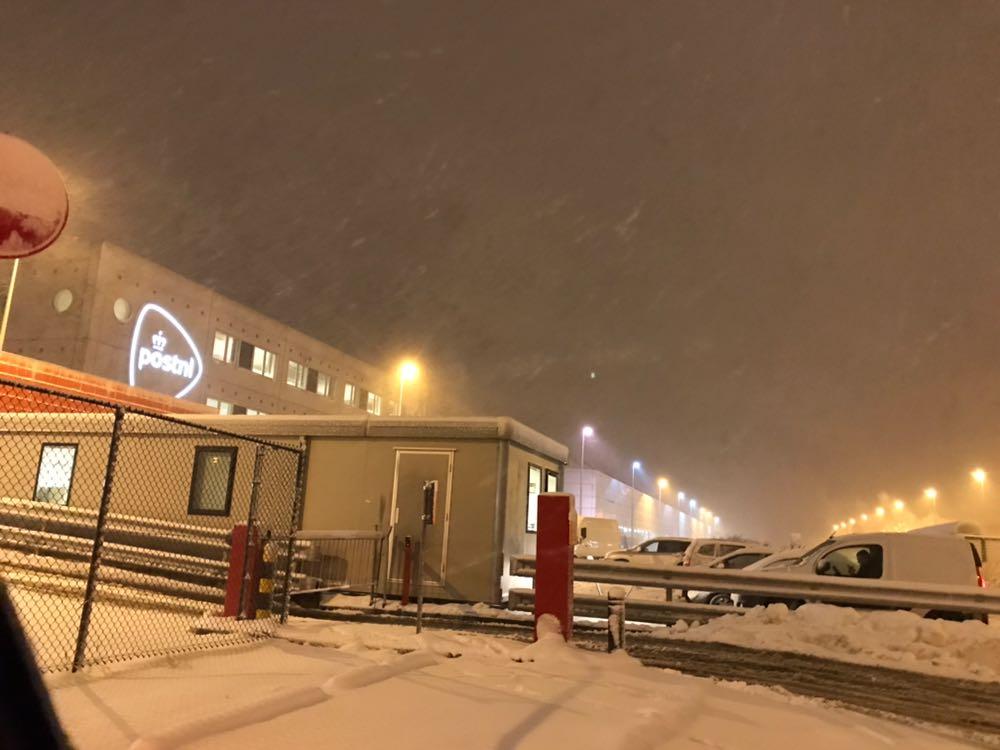 Door de Sneeuw naar PostNL