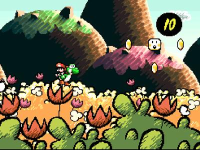 #10: Super Mario World 2