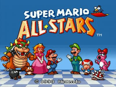 #2: Super Mario All Stars