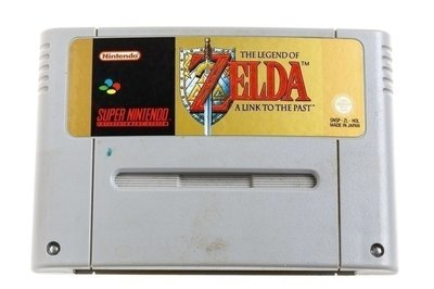 Zelda Link to the Past SNES