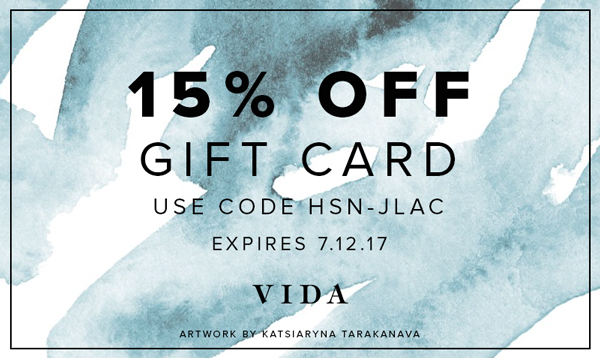 15% off gift card
