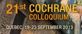 Cochrane Colloquium 2013