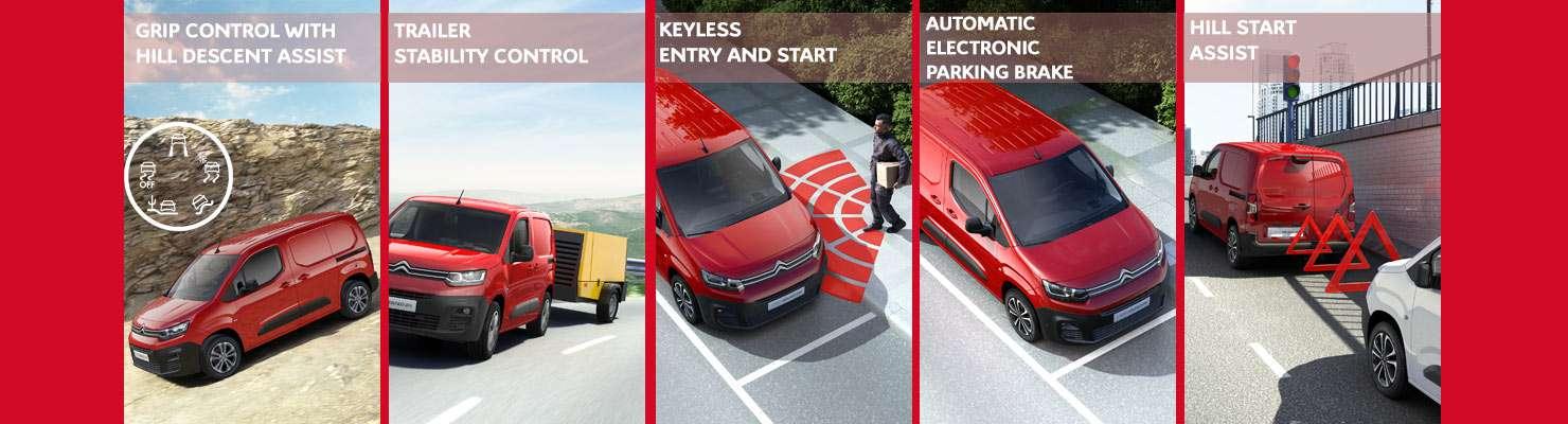 Citroen Berlingo features and benefits