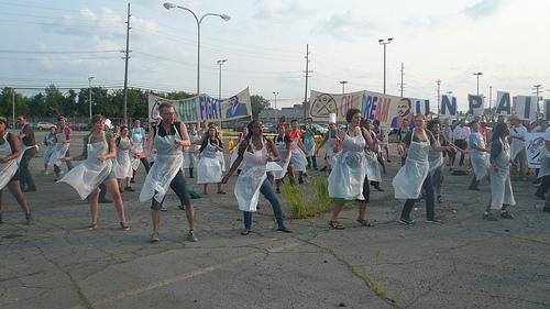 ROC-MI Flash Mob