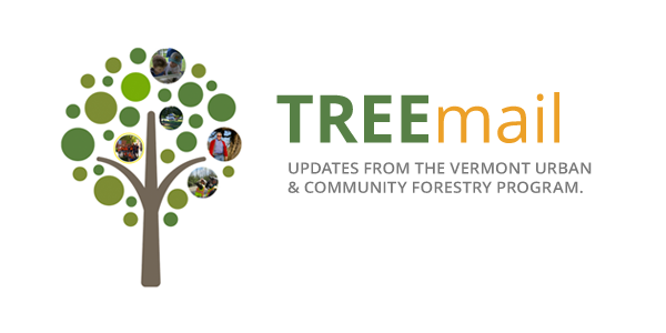 TREEmail - Updates from the Vermont Urban and Community Forestry Program